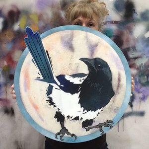 When The Magpie Arrives Good Fortune Will Follow.