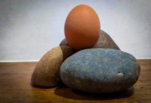 'Free Eggs From Smashing Stones'