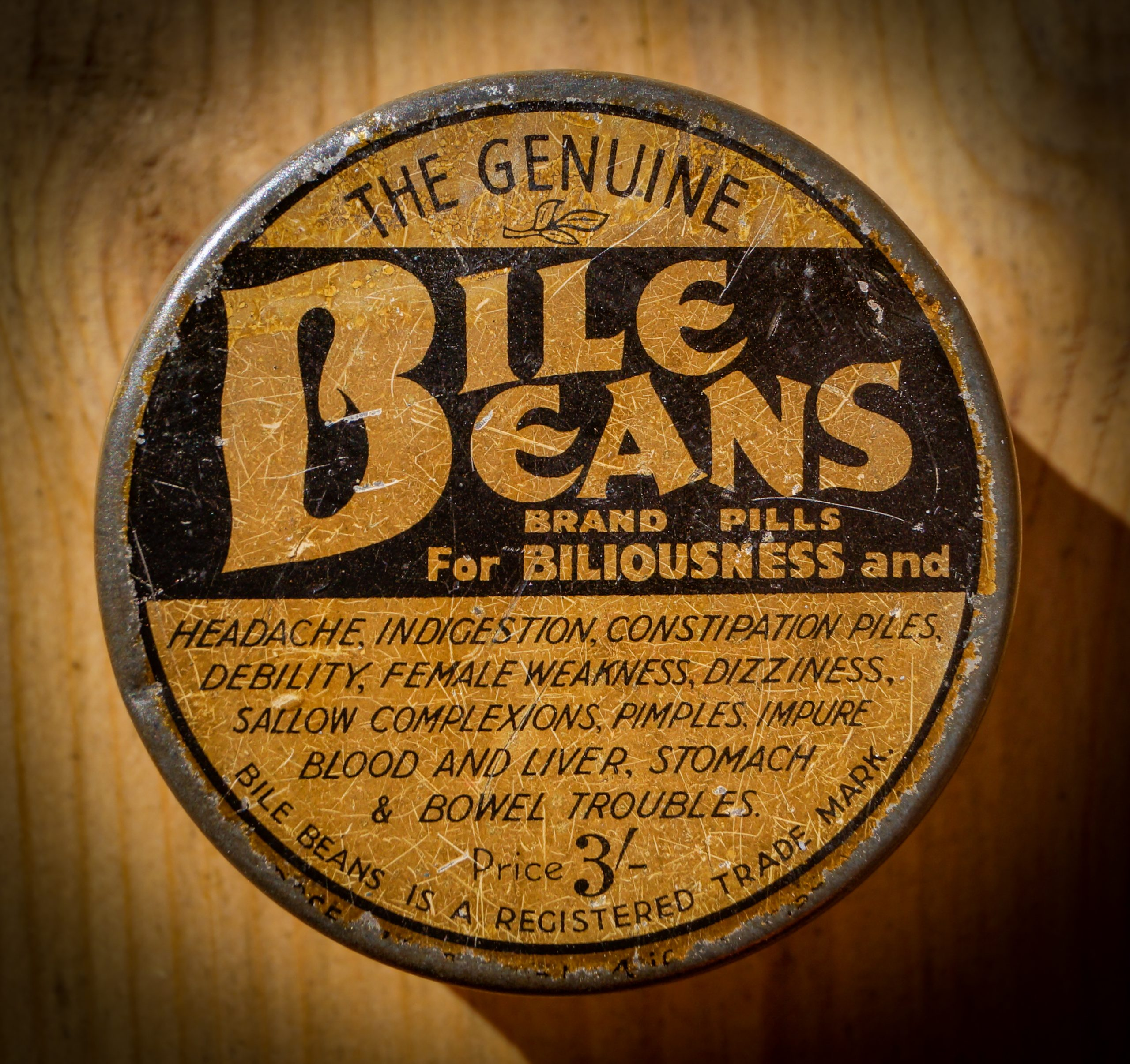 Image of Bile Beans tin